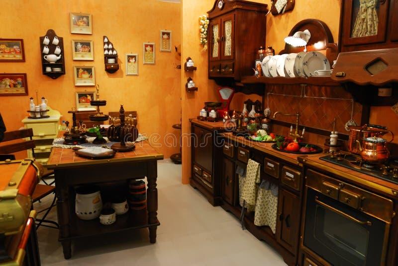经典厨房 免版税库存照片
