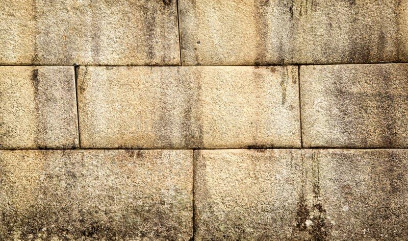 经典古老印加人石墙在马丘比丘,秘鲁 免版税库存图片