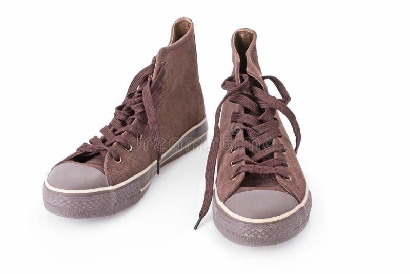 经典复制品运动鞋 免版税图库摄影