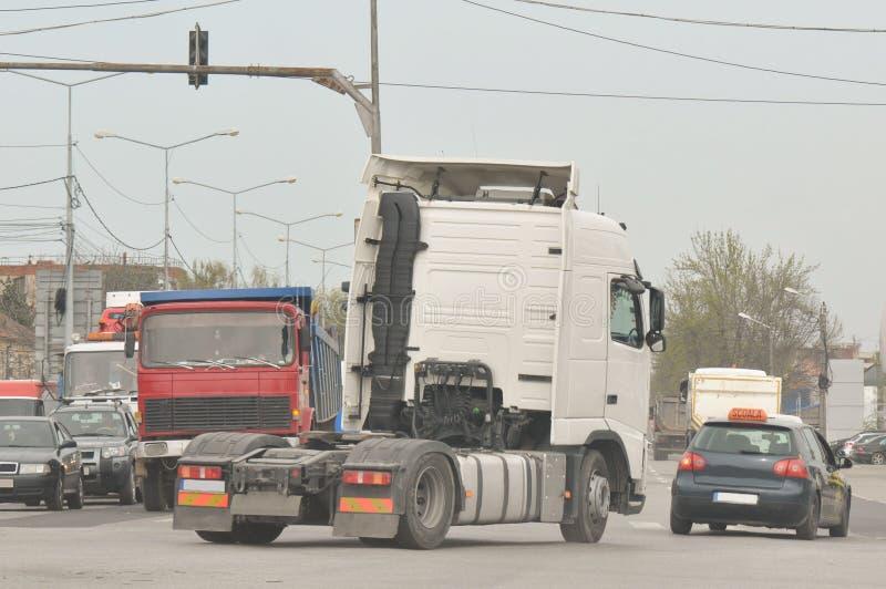 经典大半船具卡车 免版税图库摄影