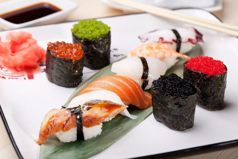 经典日本食物 库存图片