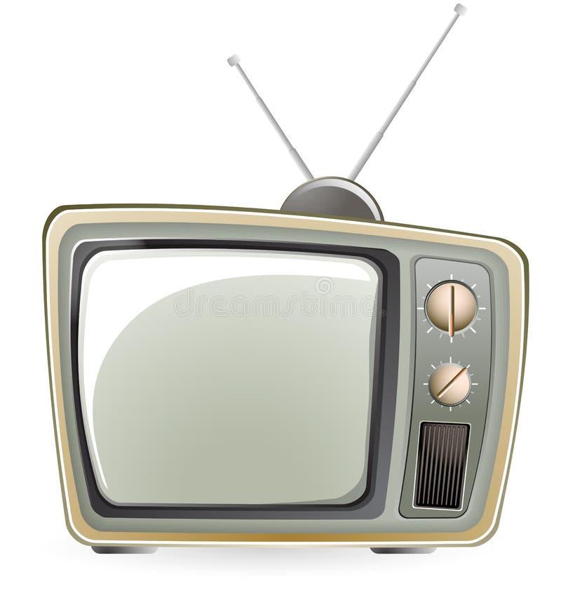 经典电视 库存例证