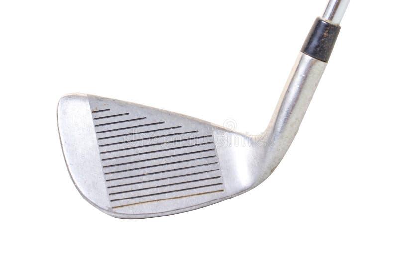 经典铁高尔夫俱乐部 库存照片