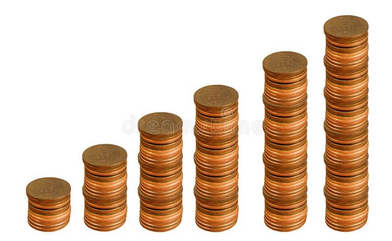 经济增长 库存图片