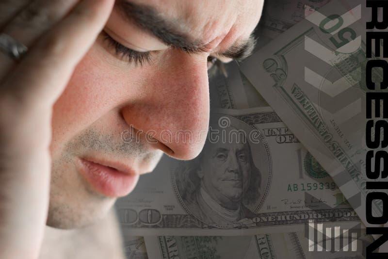 经济的转淡 免版税库存照片