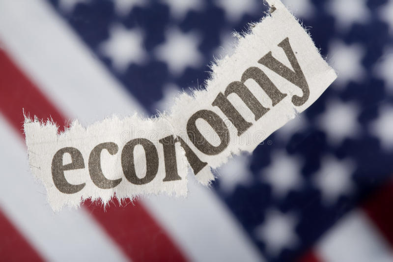 经济衰退 免版税库存照片