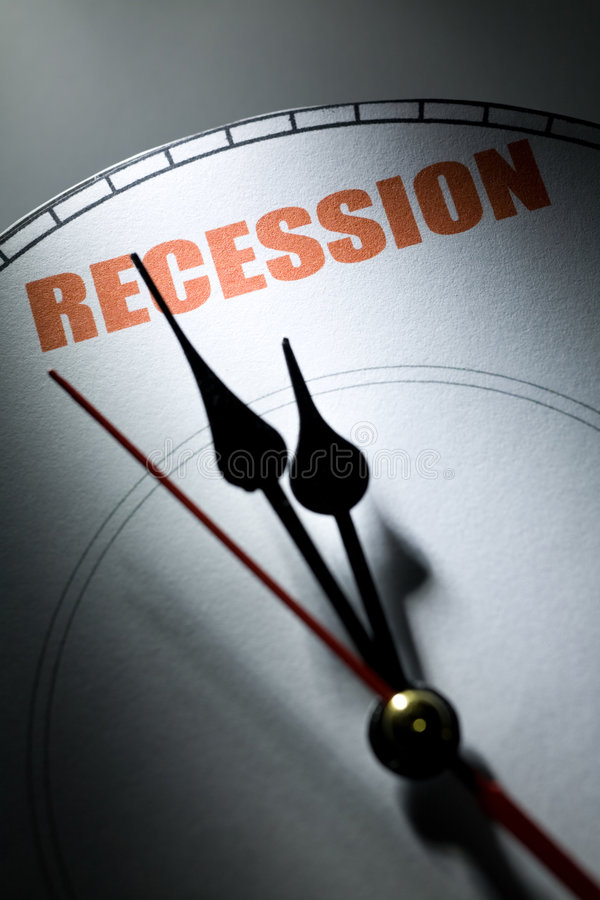 经济衰退 库存图片