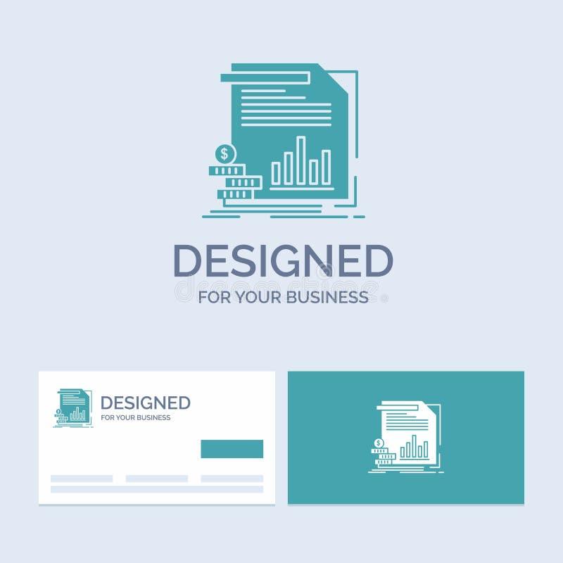 经济,财务,金钱,信息,报告企业商标纵的沟纹您的事务的象标志 r 库存例证