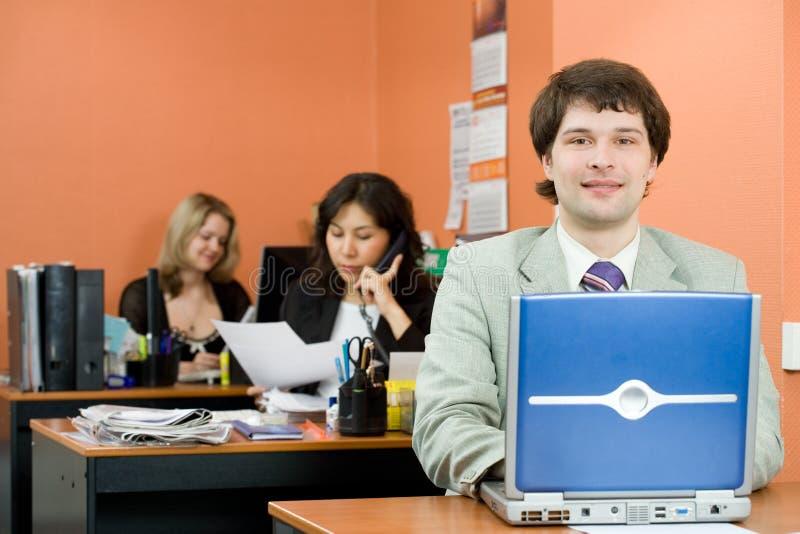 经理年轻人 免版税库存照片