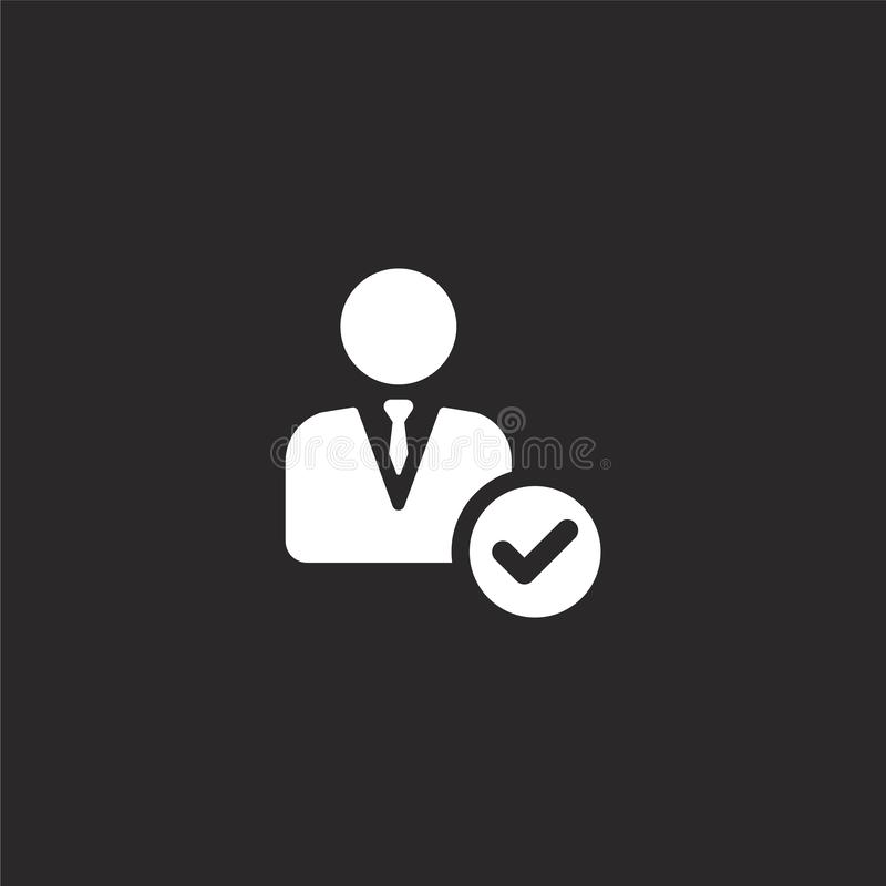 经理象 网站设计和机动性的,应用程序发展被填装的经理象 从被填装的被填装的管理的经理象 皇族释放例证