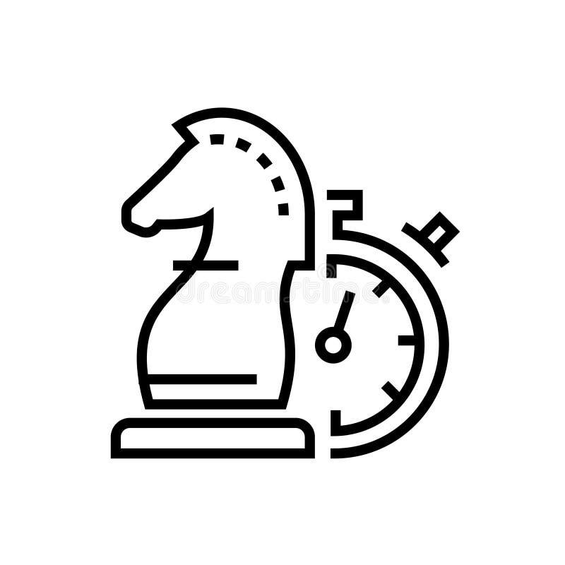经营战略-排行设计唯一被隔绝的象 库存例证