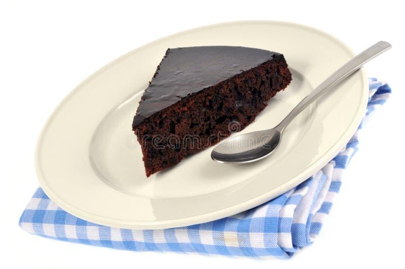 结块巧克力片 免版税图库摄影