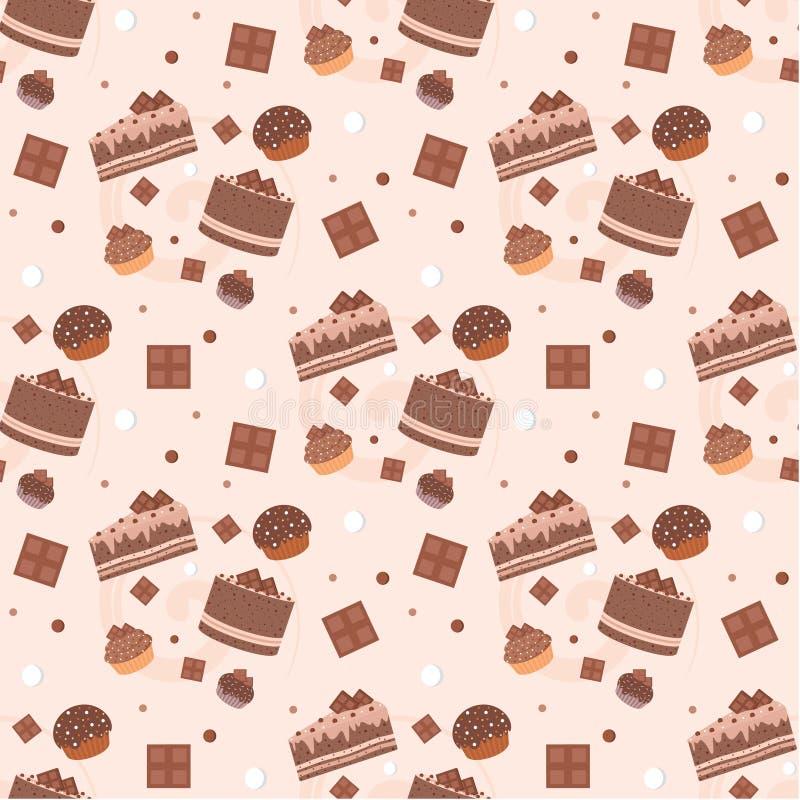 Download 结块无缝巧克力的模式 向量例证. 插画 包括有 巴西, 巧克力, 松饼, 背包徒步旅行者, 打印, 节假日 - 22357173