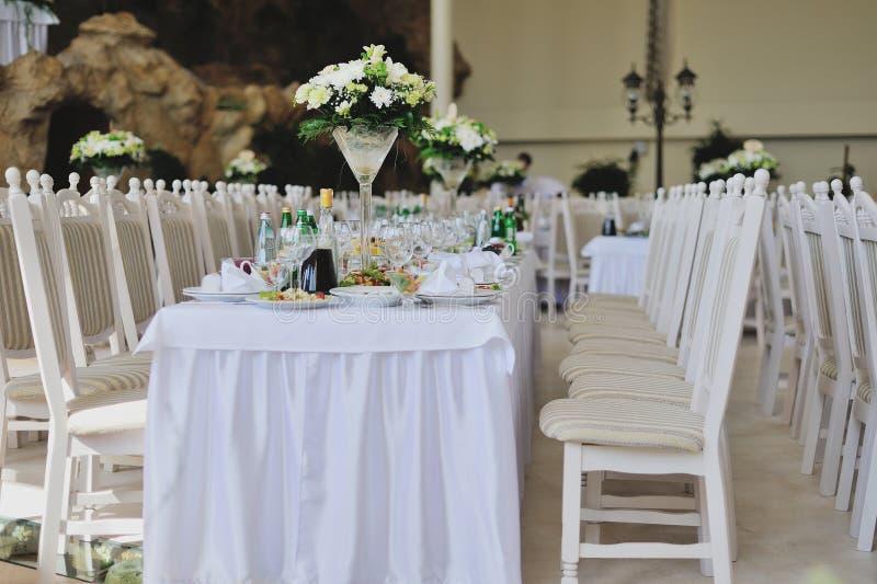 结婚宴会 库存照片