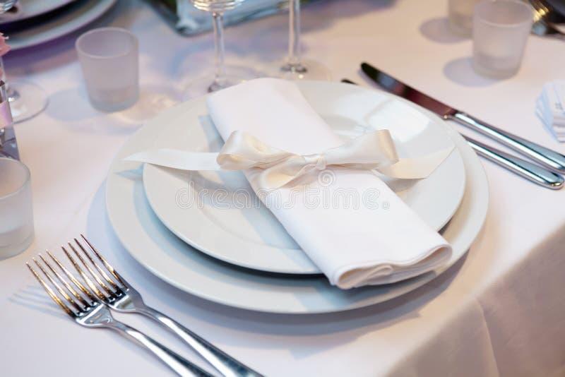 结婚宴会 免版税库存照片