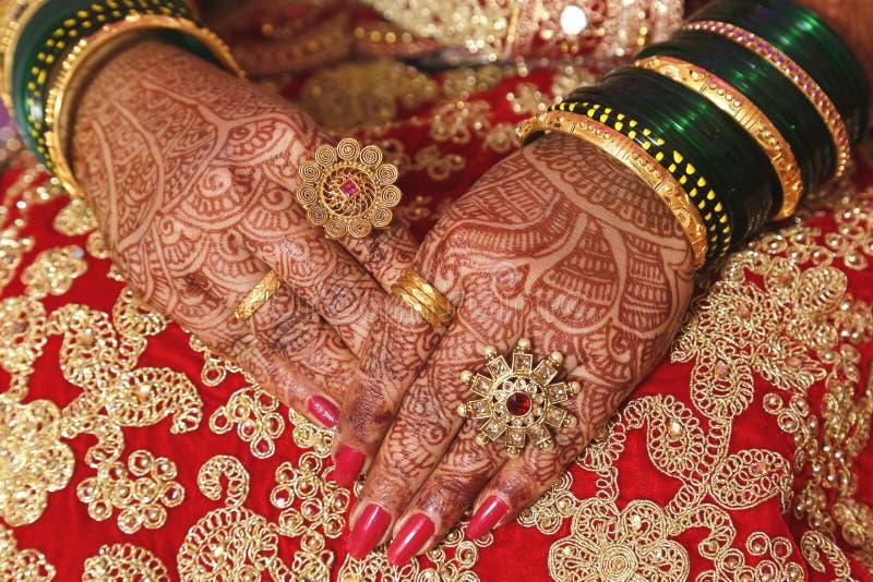 结婚戒指手图象,储蓄照片 免版税库存照片