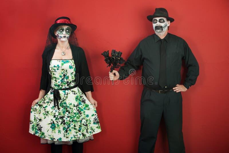 结婚提议 免版税图库摄影