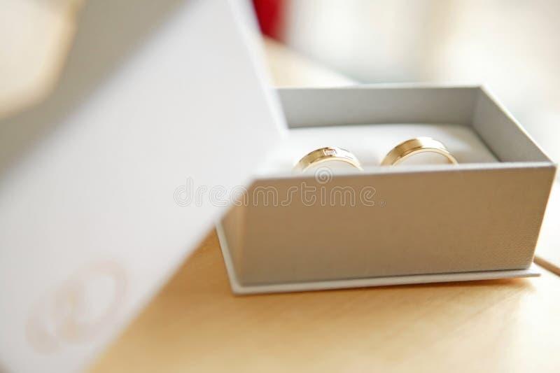 结婚的环形 免版税库存图片