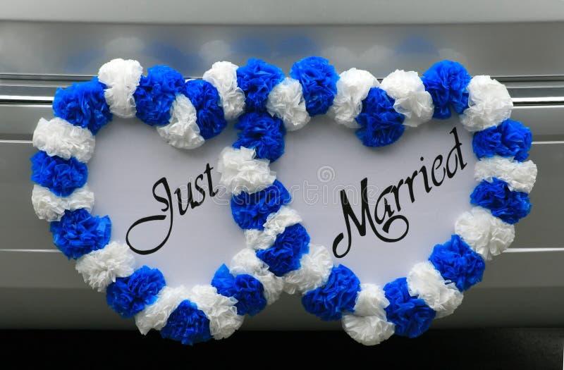 结婚的符号通信工具 免版税库存照片