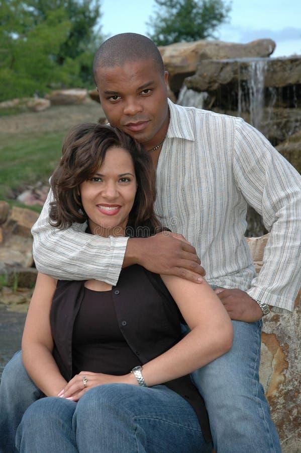结婚的3夫妇愉快 免版税库存照片