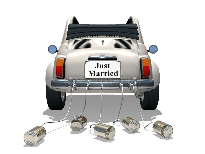 结婚 皇族释放例证