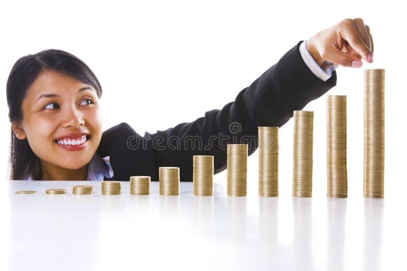 结尾投资我的利润年 免版税库存照片