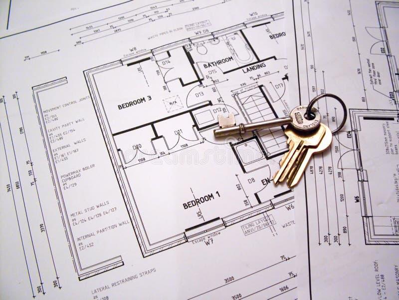 结构上关键字计划 免版税库存图片