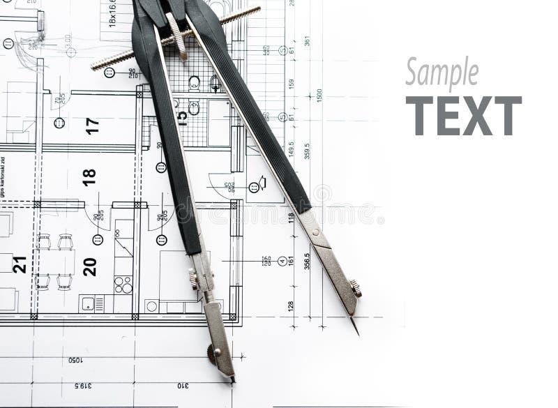 结构上分切器paln 免版税库存图片