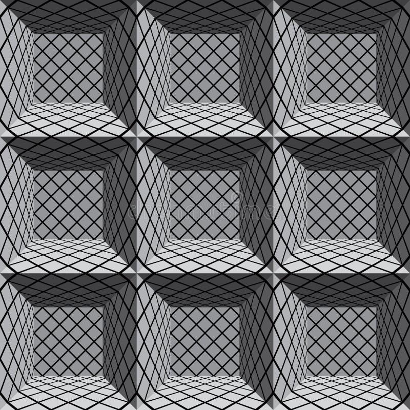 结构上无缝的模式。 向量例证