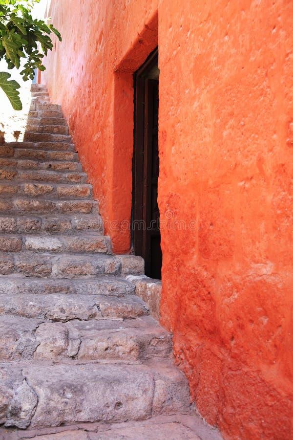 结构五颜六色的cuzco详述秘鲁 图库摄影