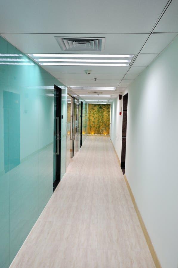 结构企业走廊 库存照片