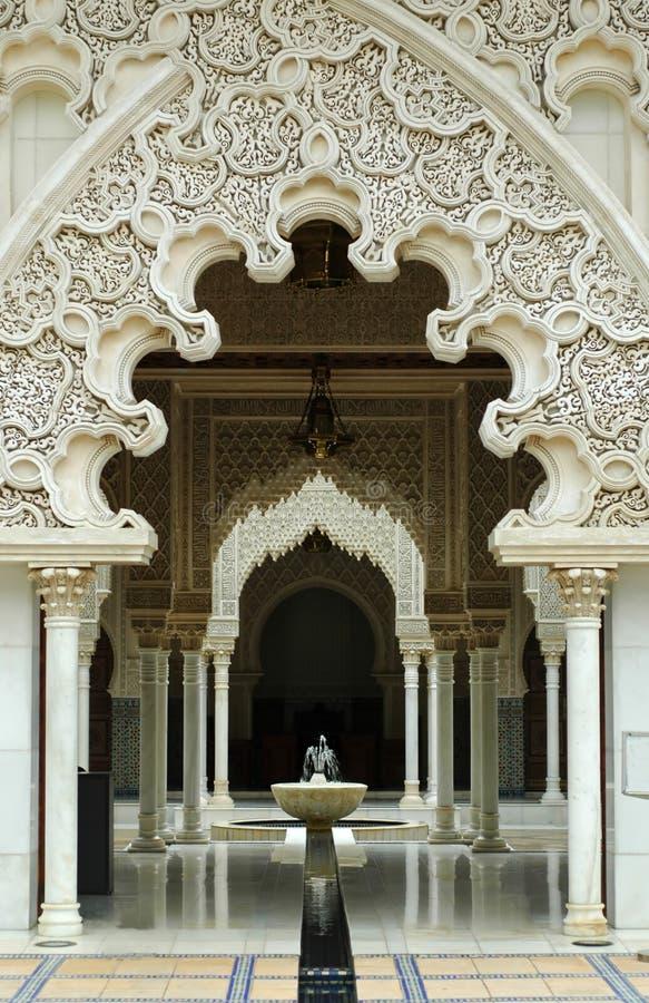 结构内部摩洛哥人 免版税库存图片