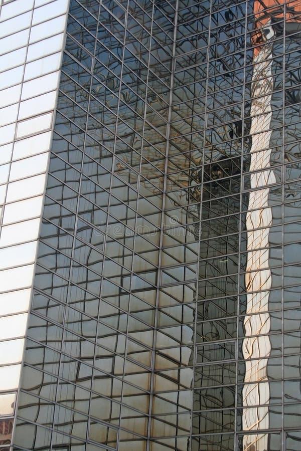 结构印度现代skyscrapper 免版税库存照片