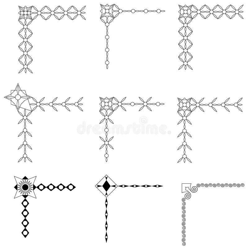 结构向量 库存例证