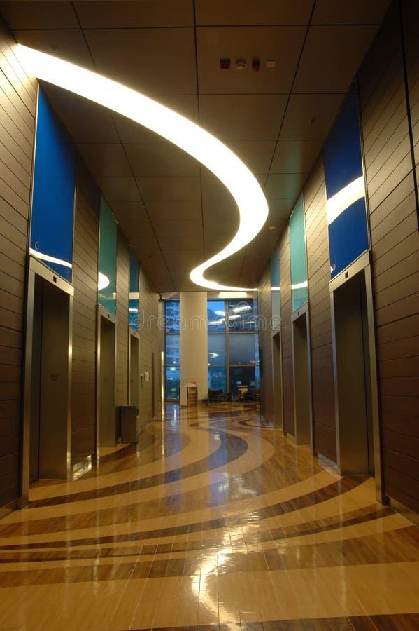 结构大厦企业内部 免版税库存照片