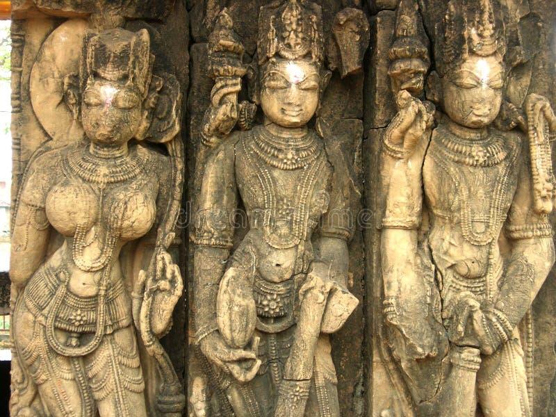 结构寺庙 库存照片