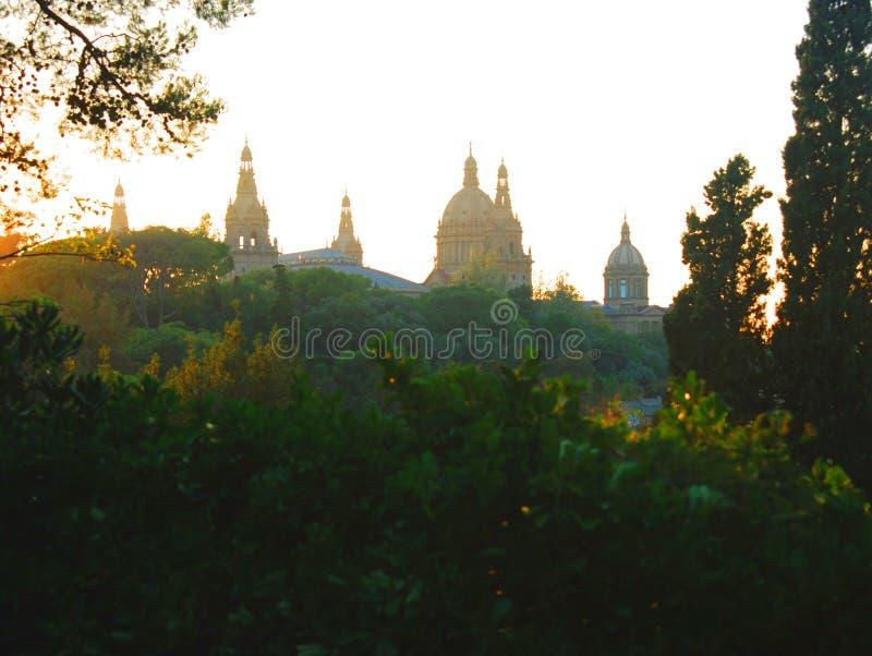 结构巴塞罗那 免版税库存照片