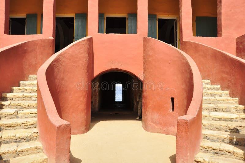 结构房子塞内加尔从属 免版税图库摄影