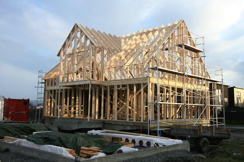 结构房子 库存图片