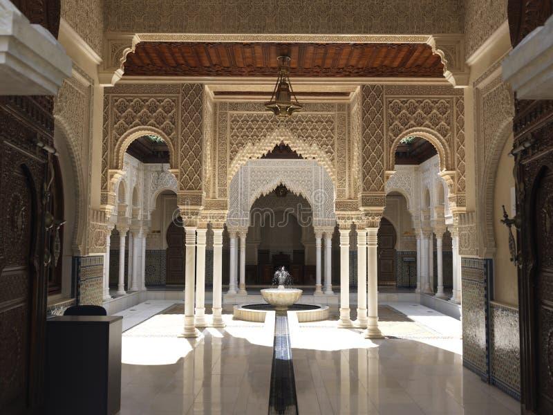 结构摩洛哥人 免版税图库摄影