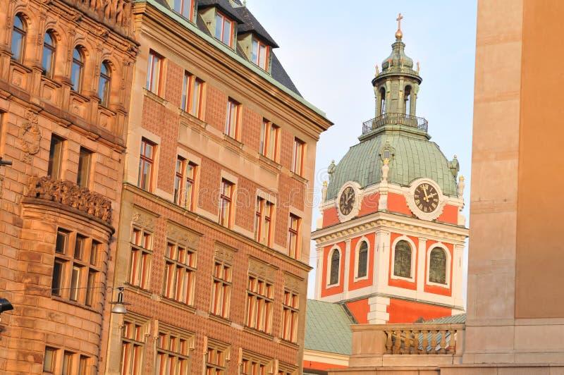 结构斯德哥尔摩 免版税库存照片