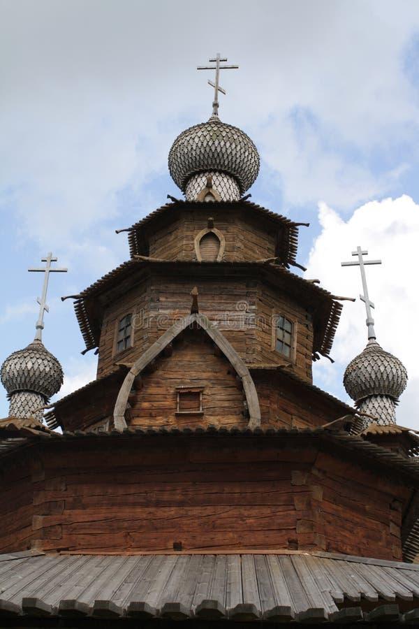 结构木圆顶的博物馆 免版税图库摄影
