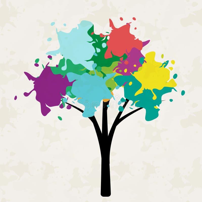 结构树例证 向量例证