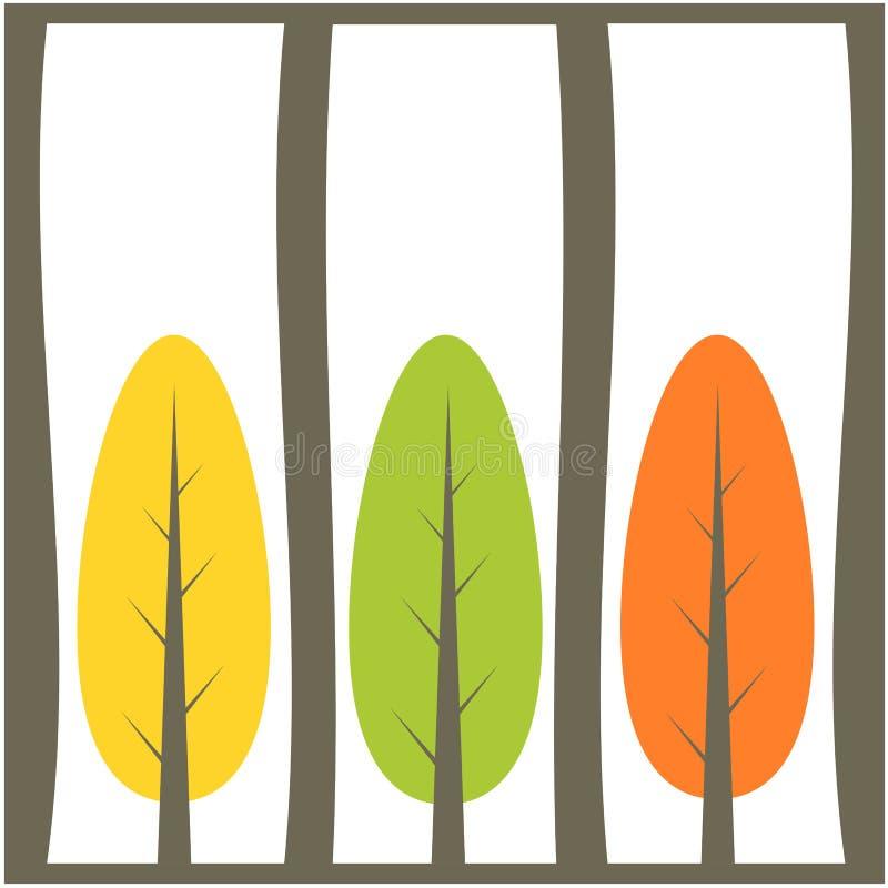结构树背景例证 皇族释放例证