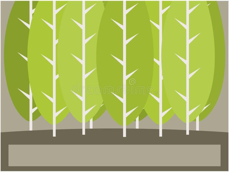 结构树背景例证 库存例证