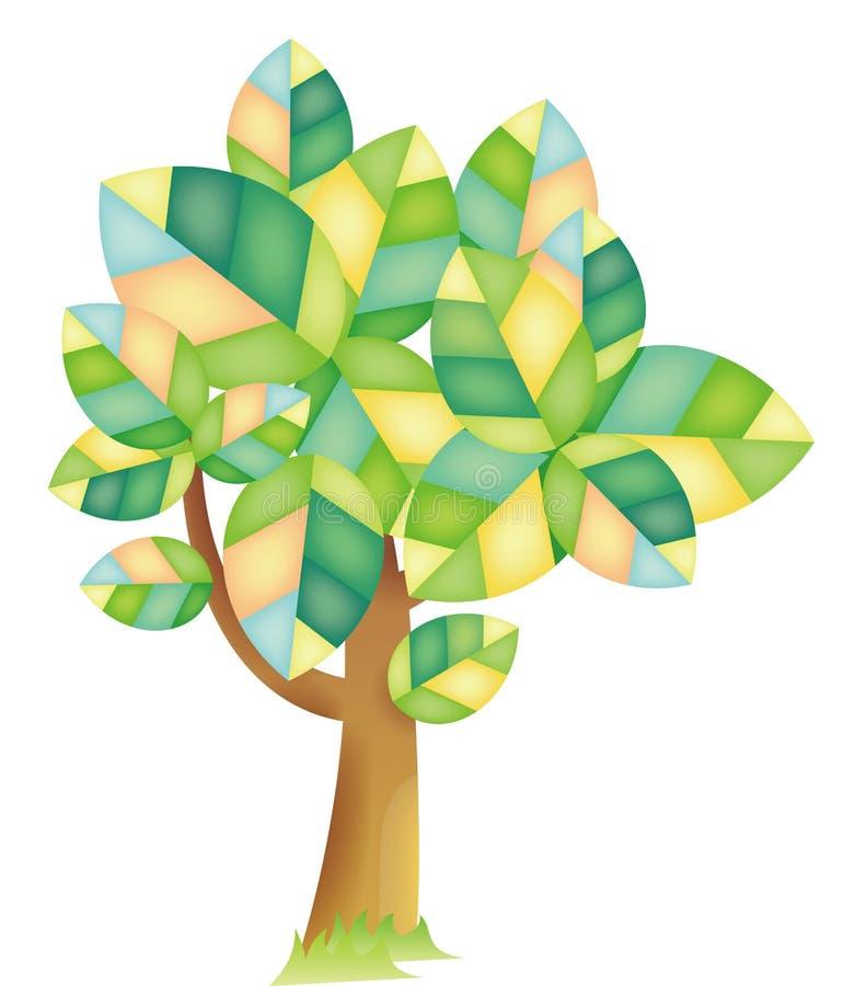 结构树 库存例证