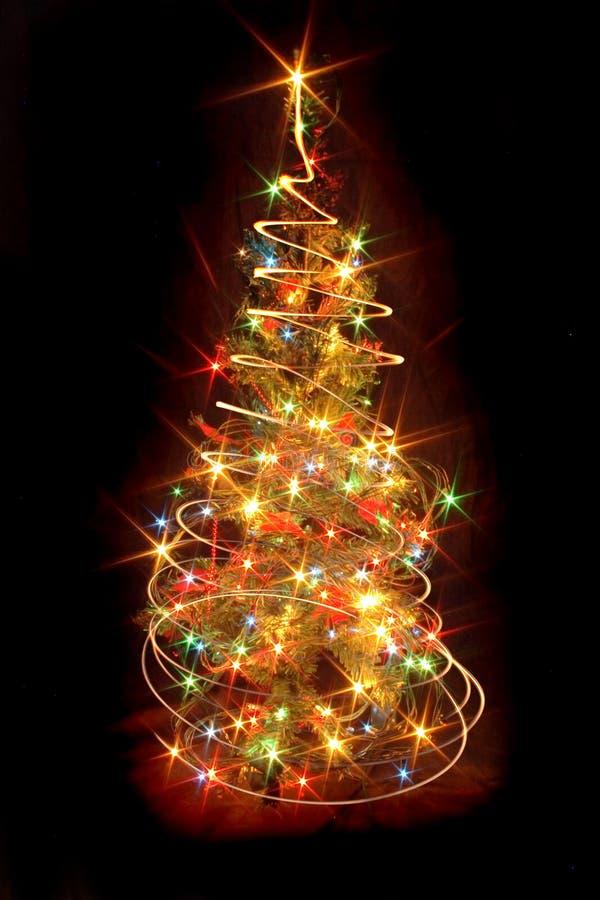 结构树xmas 库存例证