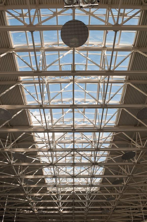 结构片段现代都市 免版税库存图片