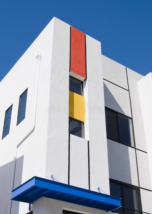结构现代住宅 免版税库存图片
