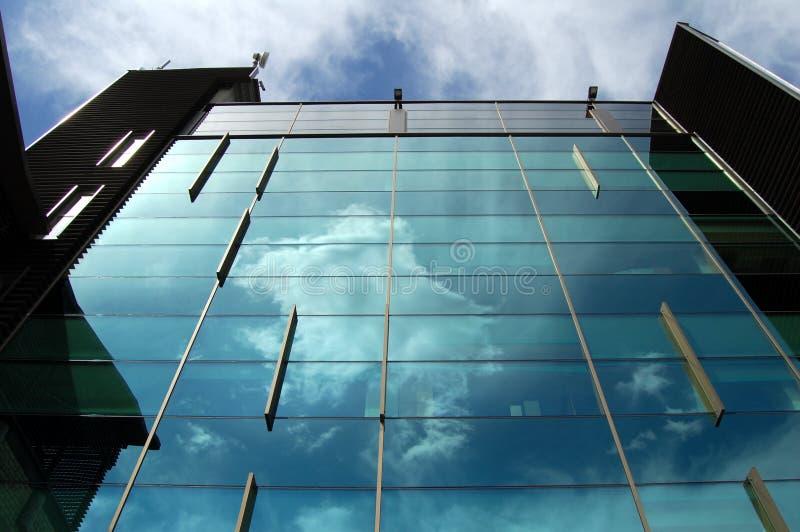 结构现代办公室维尔纽斯 库存照片